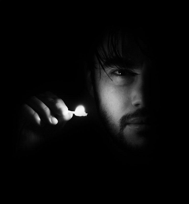 Dimitri portrait allumette 2