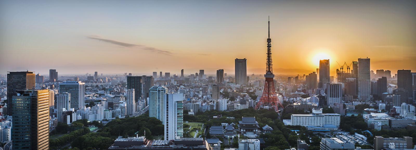 tokyo sunset 1